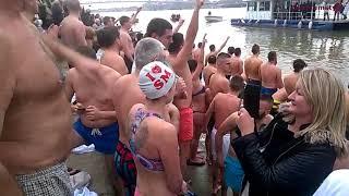Богојављање 2018 - пливање за часни крст у Сремској Митровици