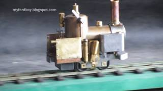 Cracker Steam Loco Part 4 Running on Steam