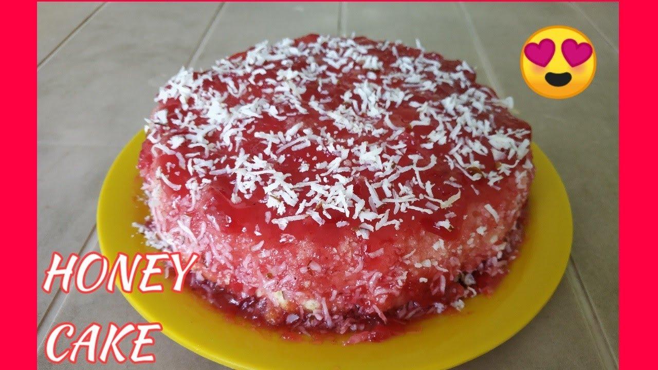 Honey Cake Birthday Special Love For Baking Youtube