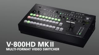 Roland Pro A/V - Videos - V-1HD HD Video Switcher