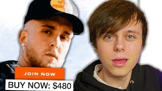 buying Jake Paul's new scam