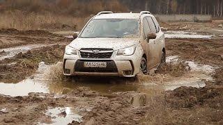 Subaru Forester 2016. Тест-драйв