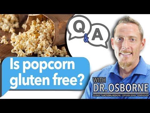 Is popcorn gluten free?
