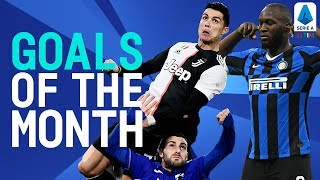 THAT Cristiano Header & Lukaku's Masterpiece! | Goals Of The Month | December 2019 | Serie A TIM