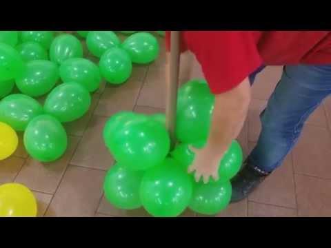 fazendo arranjo de balão para decoraçao de festa infantil muito facil (SUZY FESTA DECORAÇAO