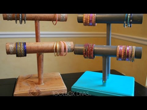 Create Beautiful Wooden Bracelet Holders - DIY Home - Guidecentral