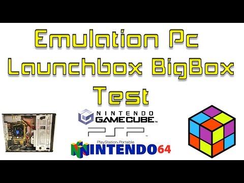 LaunchBox BigBox Quick Test Emulation Pc Build - Популярные