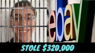 Ebay Buyer Steals $320,000. SPOILER*** (He's in Jail)