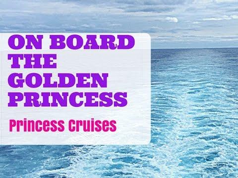 Golden Princess Cruises- An inside view