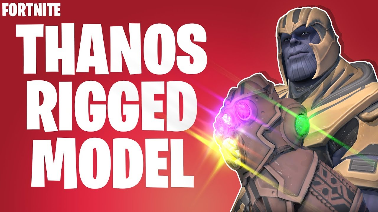 FORTNITE THANOS RIG MODEL FOR CINEMA4D ~ RedArtz ~ FREE DOWNLOAD in desc  ~  TEASER ON PINNED COMMENT
