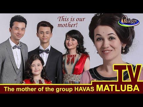 HAVAS guruhining onasi MATLUBA.Oilaviy TVda.Tashkent.Uzbekistan.2017