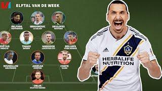 Elftal v/d Week: Zlatan Ibrahimovic Blijft Een Baas Op 37-Jarige Leeftijd!