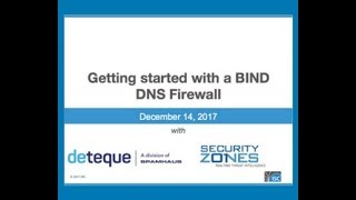 ISC - Spamhaus Webinar It's time to try a DNS Firewall December 14, 2017 thumbnail