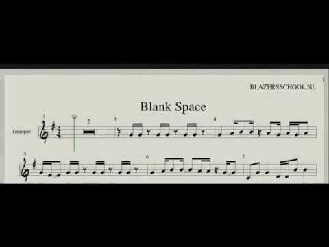 Taylor Swift - Blank Space Trumpet (Real Trumpet Sound)