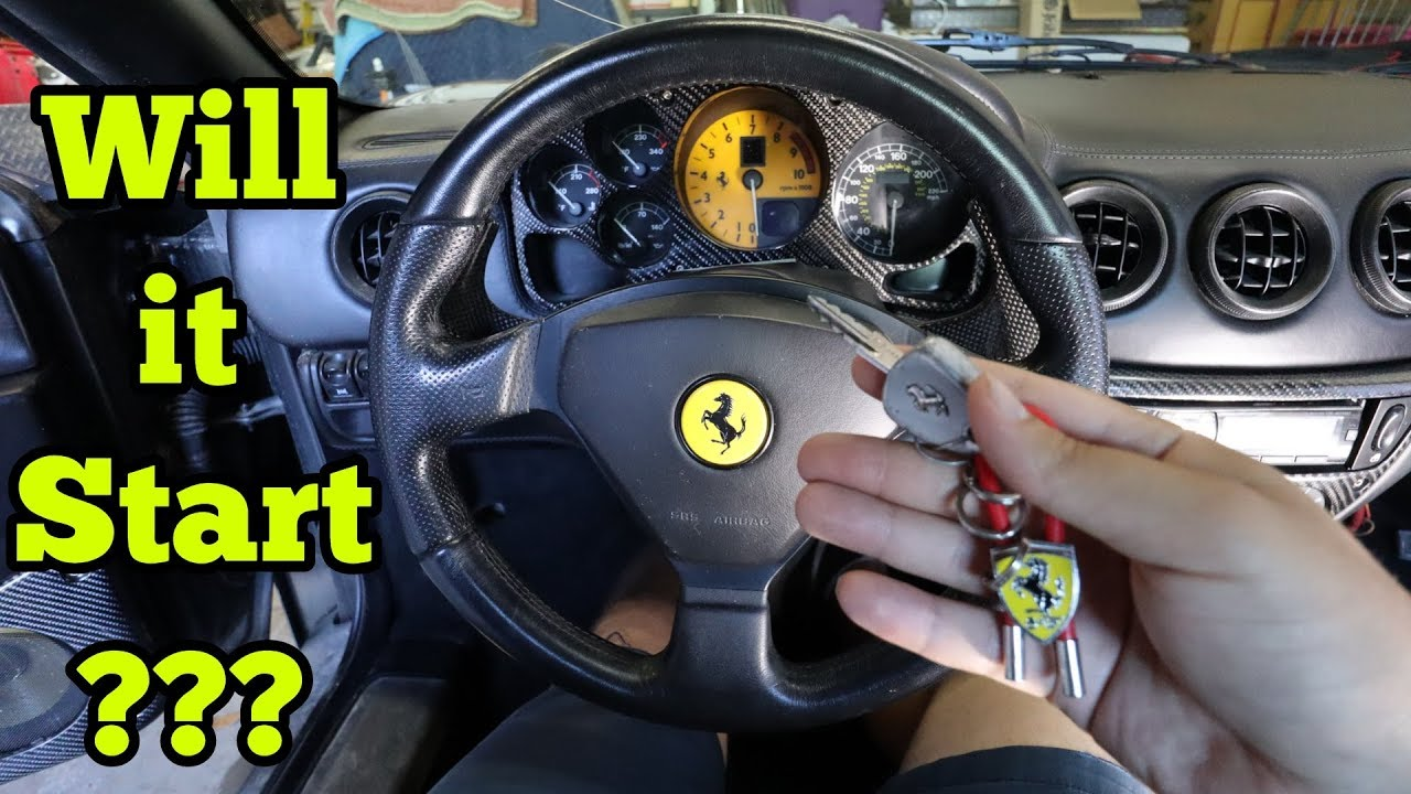 My Cheap Salvage Auction Ferrari Has a TON Of Problems! Will it Even Start?