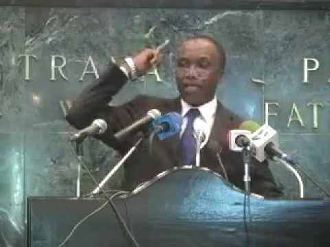 Hon. Wirba Joseph defending West Cameroon in Parliament