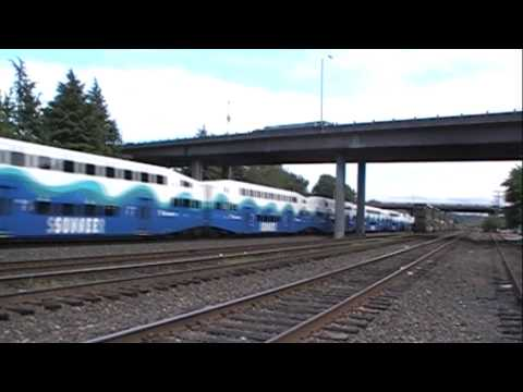 Train Meet - SOUNDER Commuter Trains
