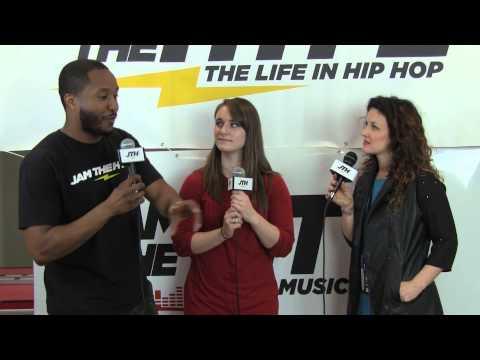 Winter Jam 2014 - Plumb Interview