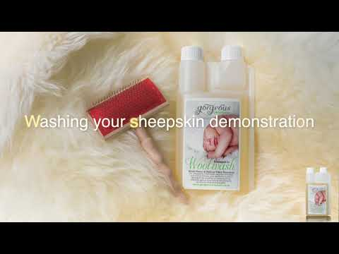 How to Wash a Sheepskin Rug by Gorgeous Creatures