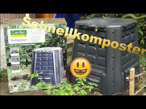 Komposter Vom Aldi Im Test Der Aufbau Youtube