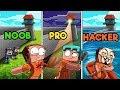 Minecraft - SECRET WAYS TO ESCAPE PRISON! (NOOB PRO HACKER)