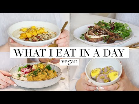 What I Eat in a Day #54 (Vegan) | JessBeautician