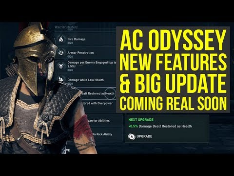 Assassin's Creed Odyssey NEW FEATURES & More Coming In Update 1.11 Really Soon (AC Odyssey Update) thumbnail