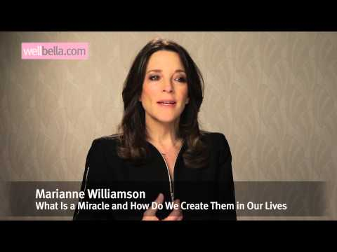 Marianne Williamson on Wellbella TV: What is a Miracle and How Do We Create Them in Our Lives