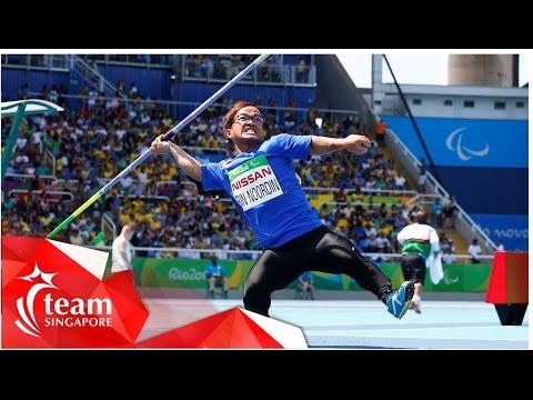 Catch Up with TeamSG Athlete Muhd Diroy bin Noordin