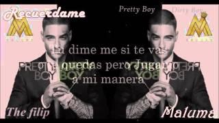 Maluma - Recuerdame (letra) 2015