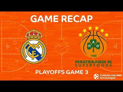 Highlights: Real Madrid - Panathinaikos Superfoods Athens