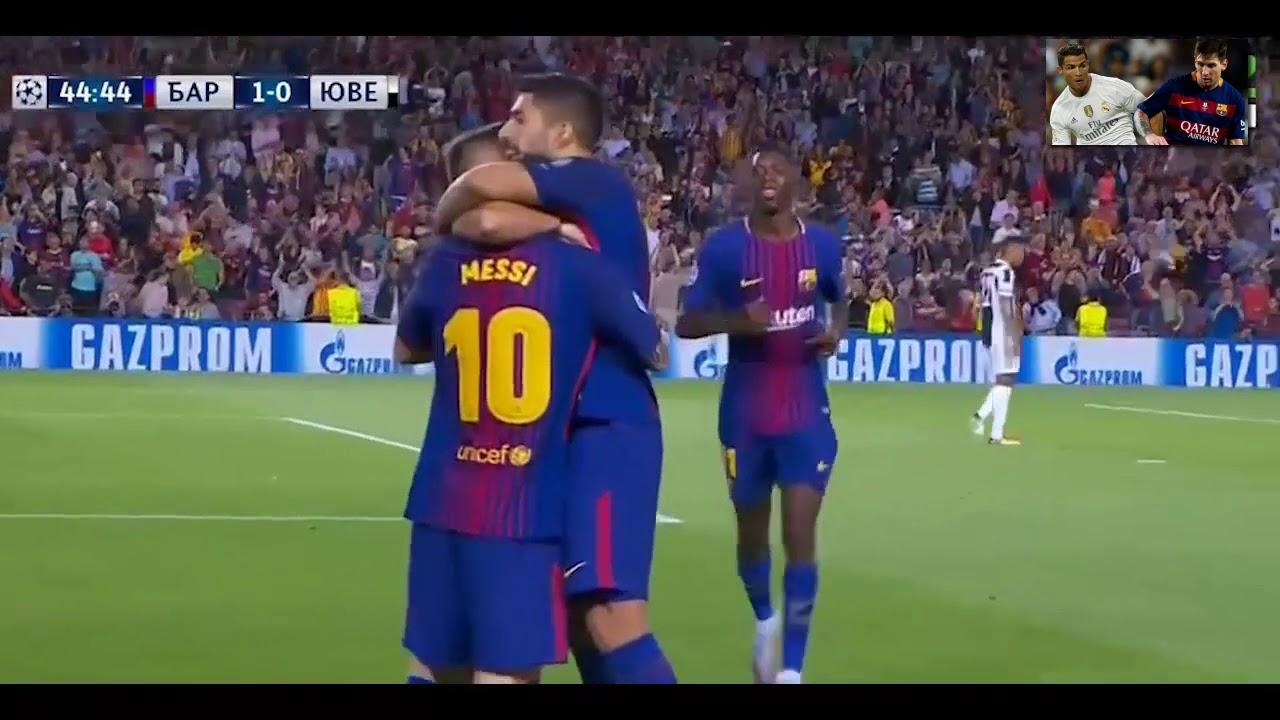 СегоднЯ футбол барселона и ювентус
