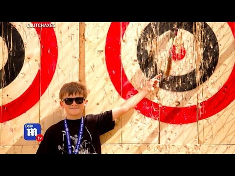Despite dangers axe throwing bars are hot new trend