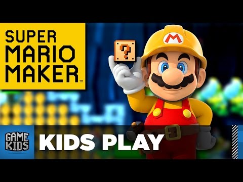 Super Mario Maker Custom Levels - Kids Play