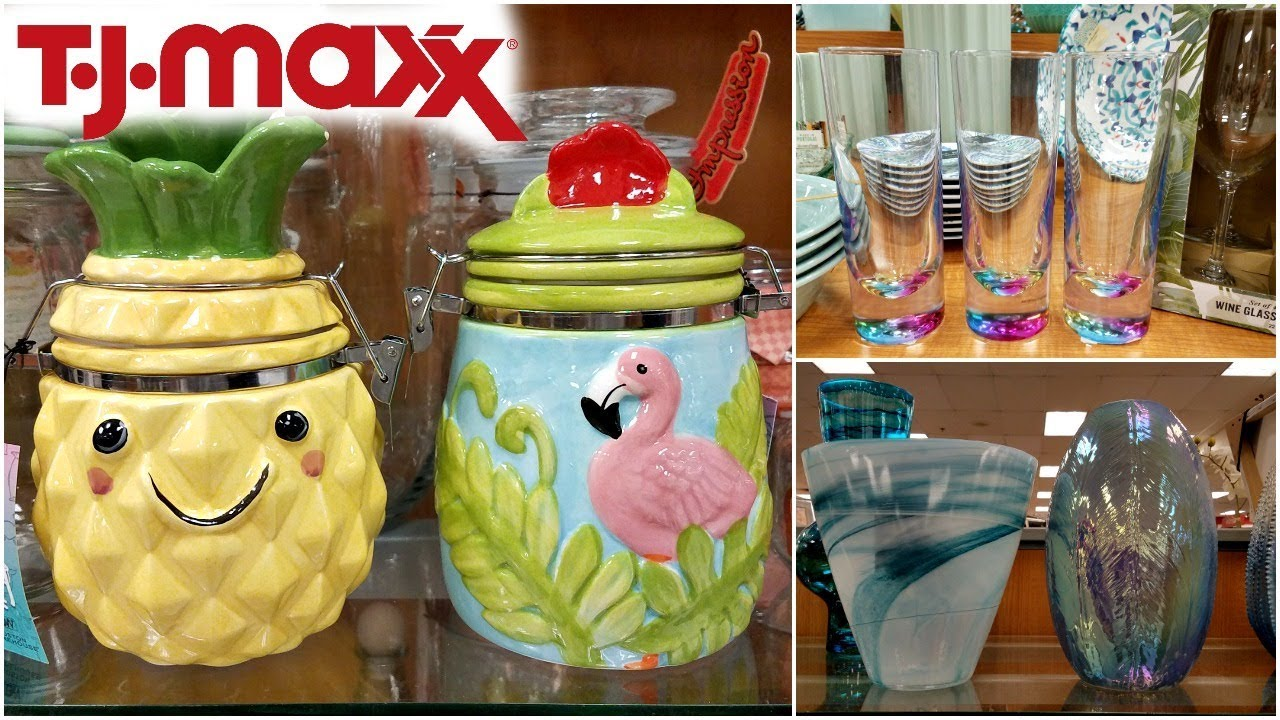 Shop WITH ME TJ MAXX CUTE HOME DECOR IDEAS KITCHEN WALK THROUGH 2018