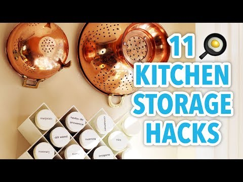 11 Kitchen Storage Hacks - HGTV Handmade