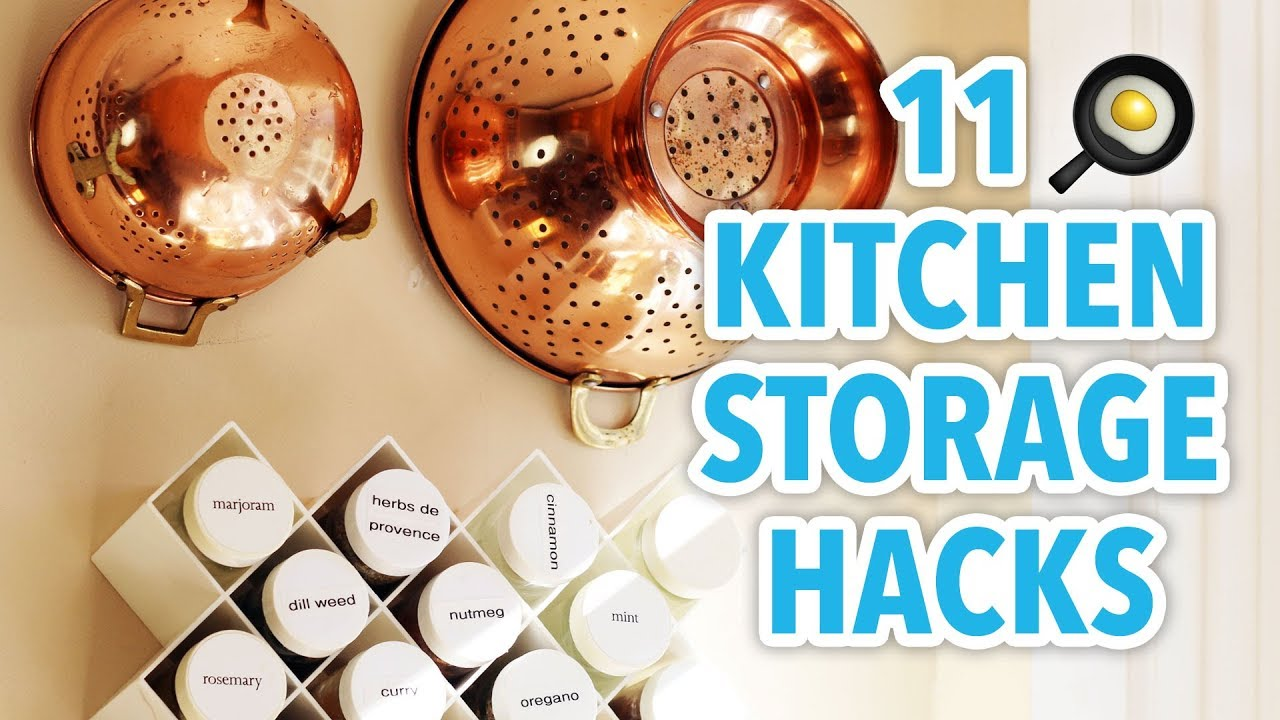 kitchen storage hacks 11 kitchen storage hacks hgtv handmade 3149