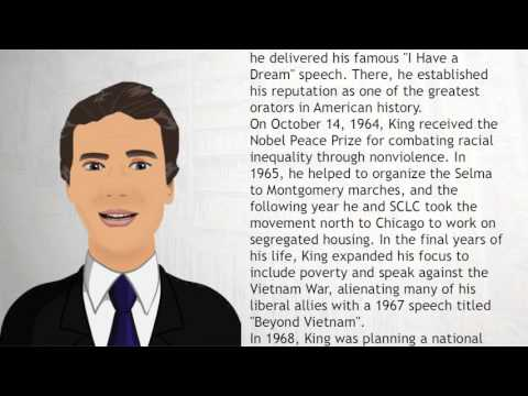 Martin Luther King, Jr - Wiki Videos