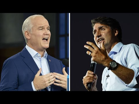 Liberals, Conservatives in two-way race in final polls