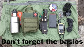 The 10 c's of BASIC GEAR you should take with you into the woods