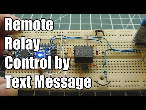 Relay Control By SMS Text Message