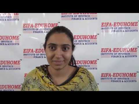 M.Tech (Nanotechnology) Student Gives Testimonial On Learning Accounts From EIFA- EDUHOME