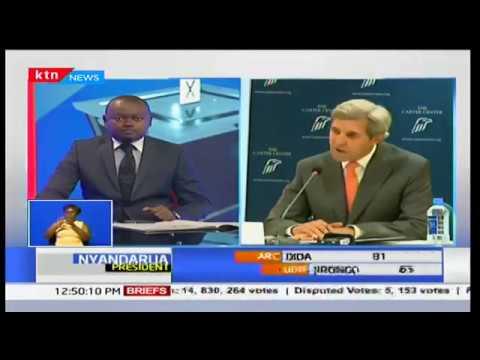John Kerry atoa taarifa kuhusiana na ripoti ya uchaguzi
