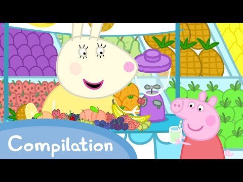 Peppa Pig Episodes - Food Compilation (new 2017!!) - Cartoons for Children