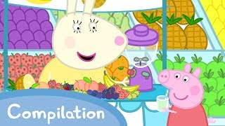 Peppa Pig English Episodes - Food Compilation (new 2017!!) - Cartoons for Children