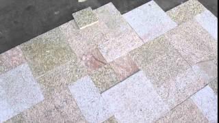 Прйевор-1,  образец кладки дорожного камня 14.02.15(, 2015-02-14T10:47:10.000Z)