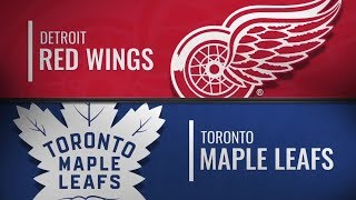 Detroit Red Wings vs Toronto Maple Leafs | Dec.06, 2018 NHL | Game Highlights | Обзор матча