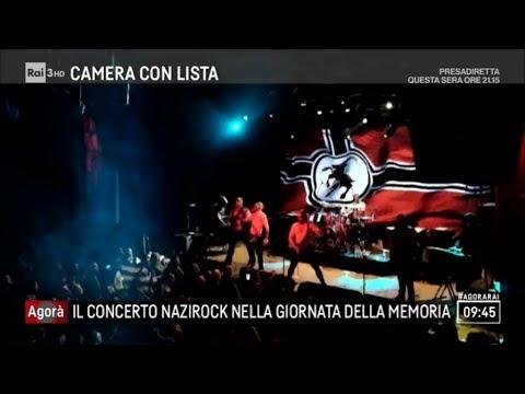 Concerto nazi nel giorno della memoria - Agorà 29/01/2018