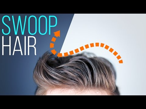 Scott Hoying Inspired Side-Swooped Hairstyle