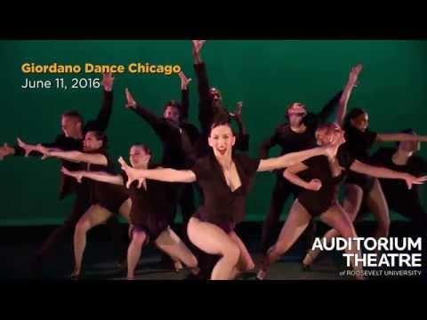 Giordano Dance Chicago | 2015-16 Season | Auditorium Theatre